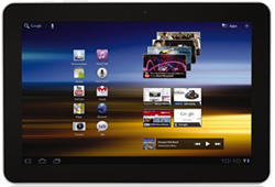 Samsung's Galaxy Tab 10.1 will come with Android Honeycomb 3.1.