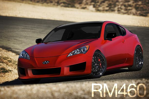 Rendering of the RM460 Genesis Coupe.