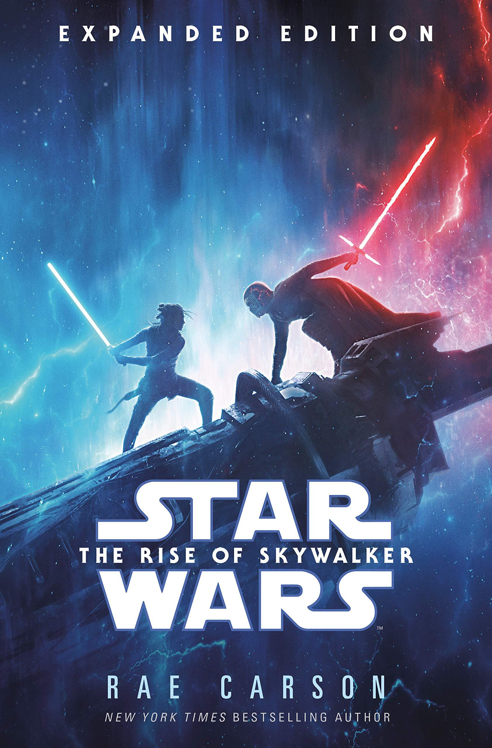 Book cover for the Star Wars: The Rise of Skywalker novelization