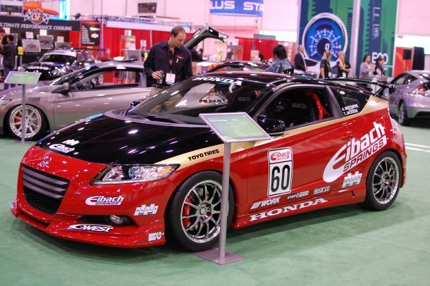 2011 Honda CR-Z by Eibach Springs