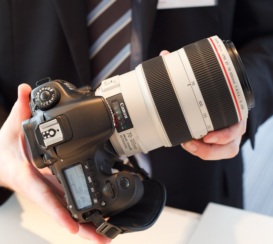 Canon's 70-300mm F4-5.6L lens