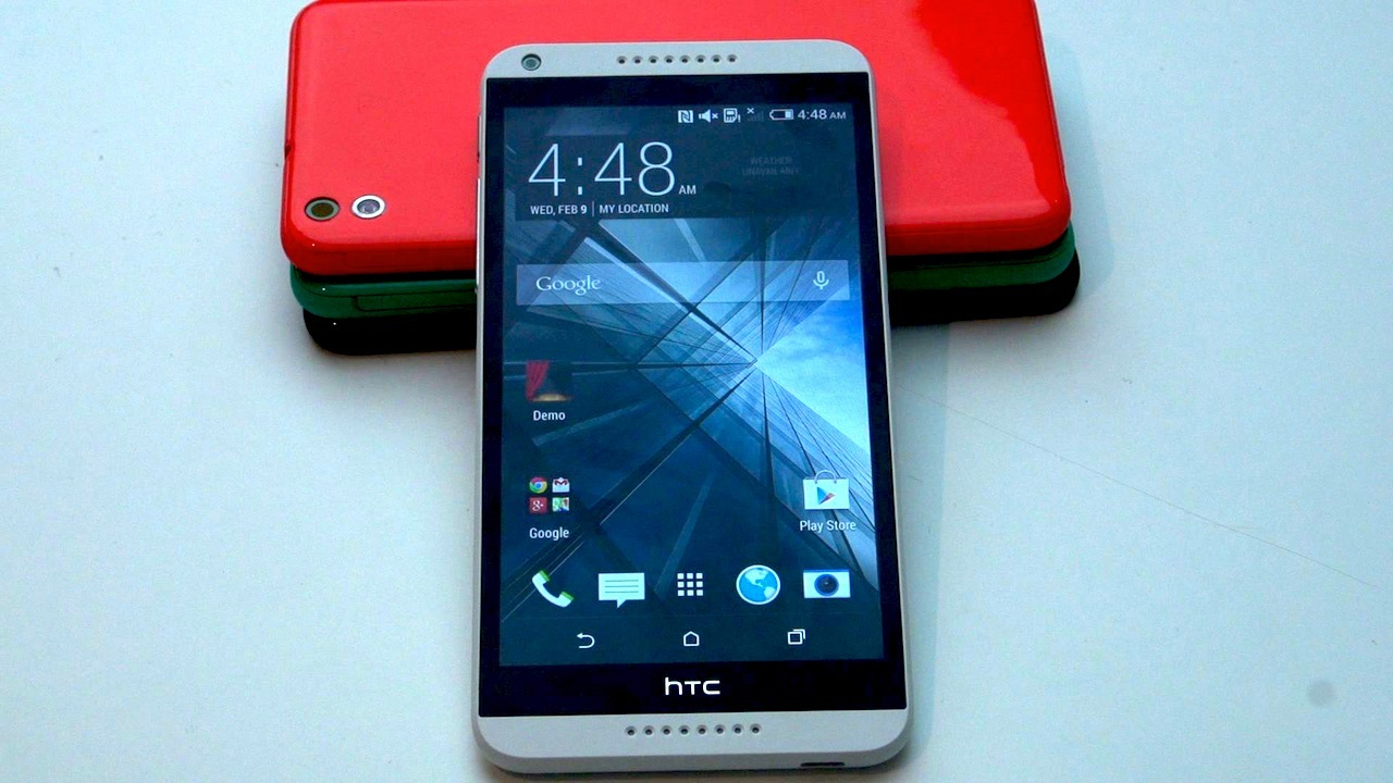 HTC Desire 816 is a plastic HTC One