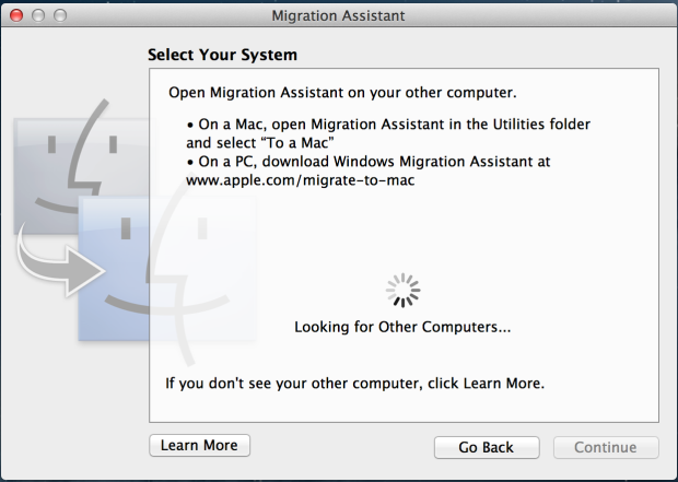 How to transfer data between Macs: 3