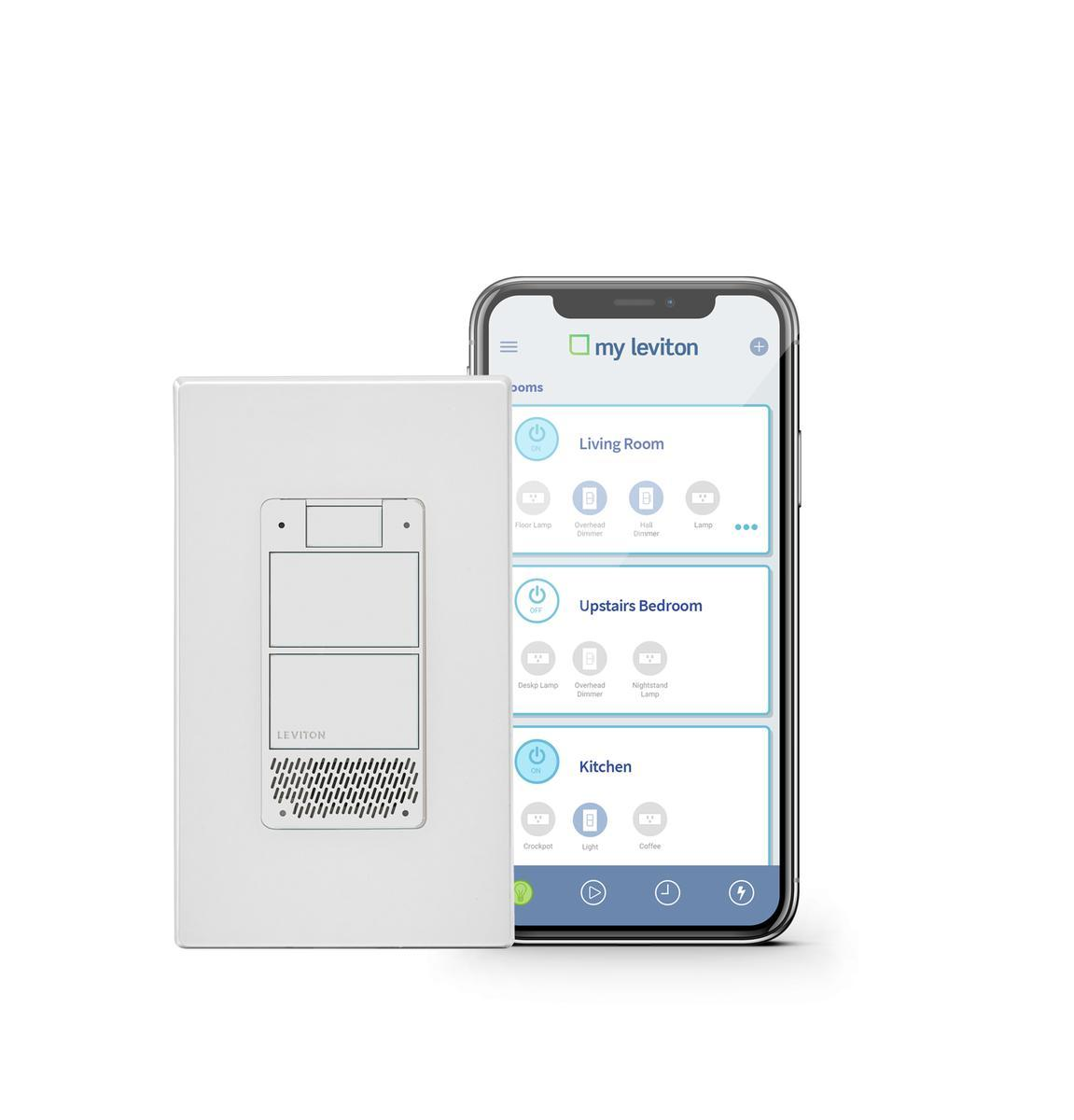 Leviton puts Alexa in a light switch
