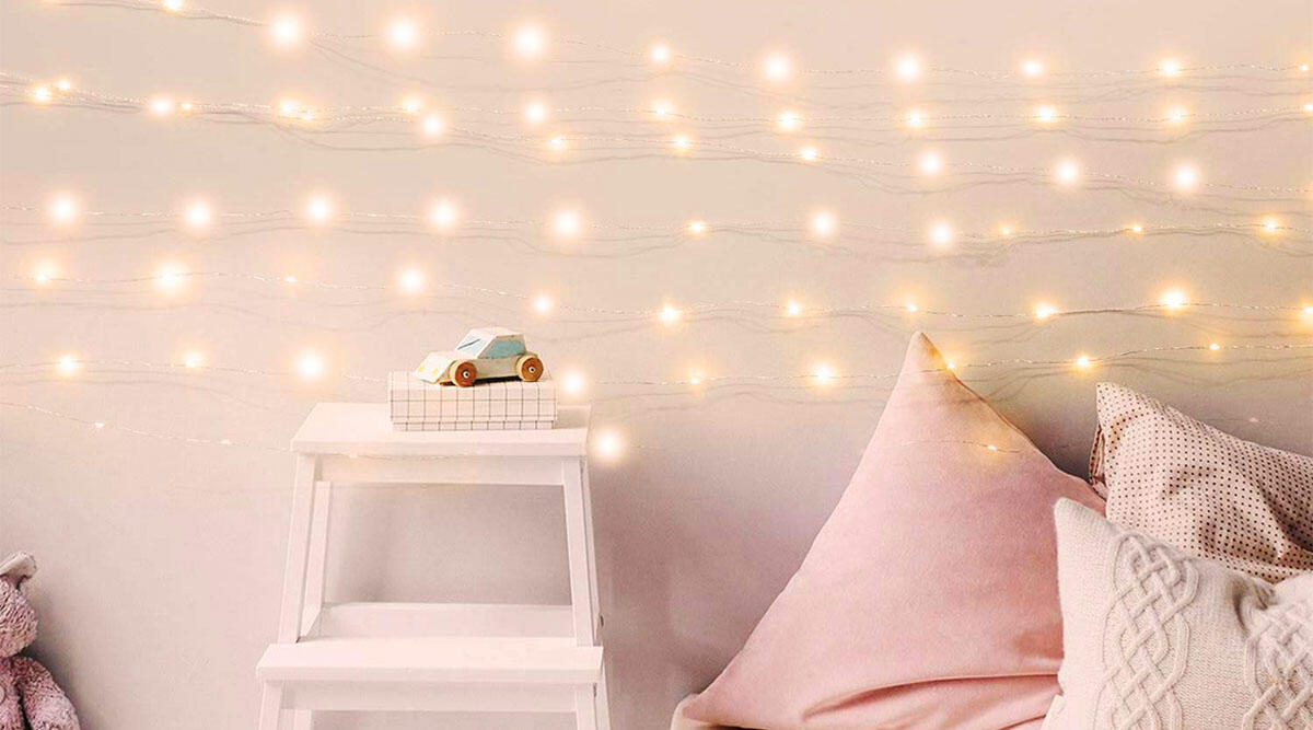 This insanely long string of lights to make your home more cozy ($11.99)