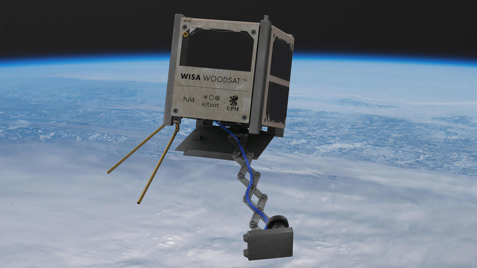 The world's first wooden satellite aims to show that plywood can survive in space