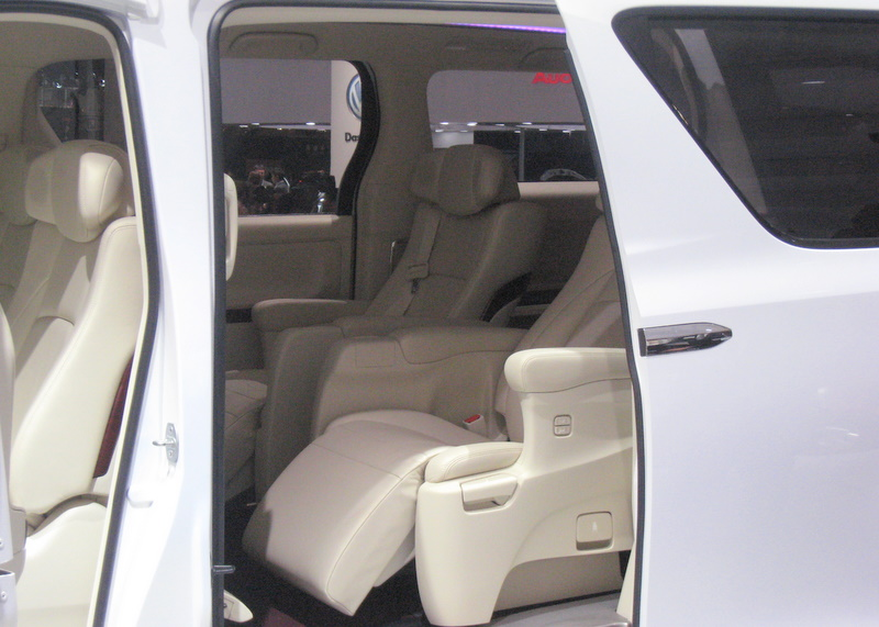Backseats of the FT-MV concept