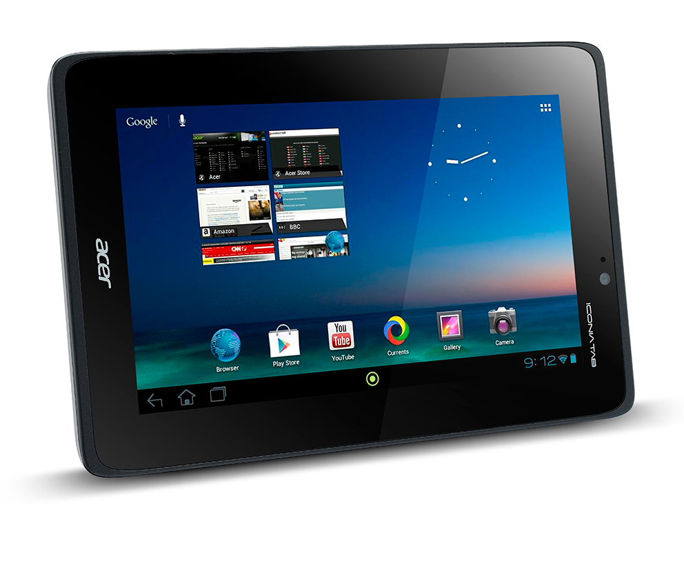 The new Iconia A110 Tablet from Acer.