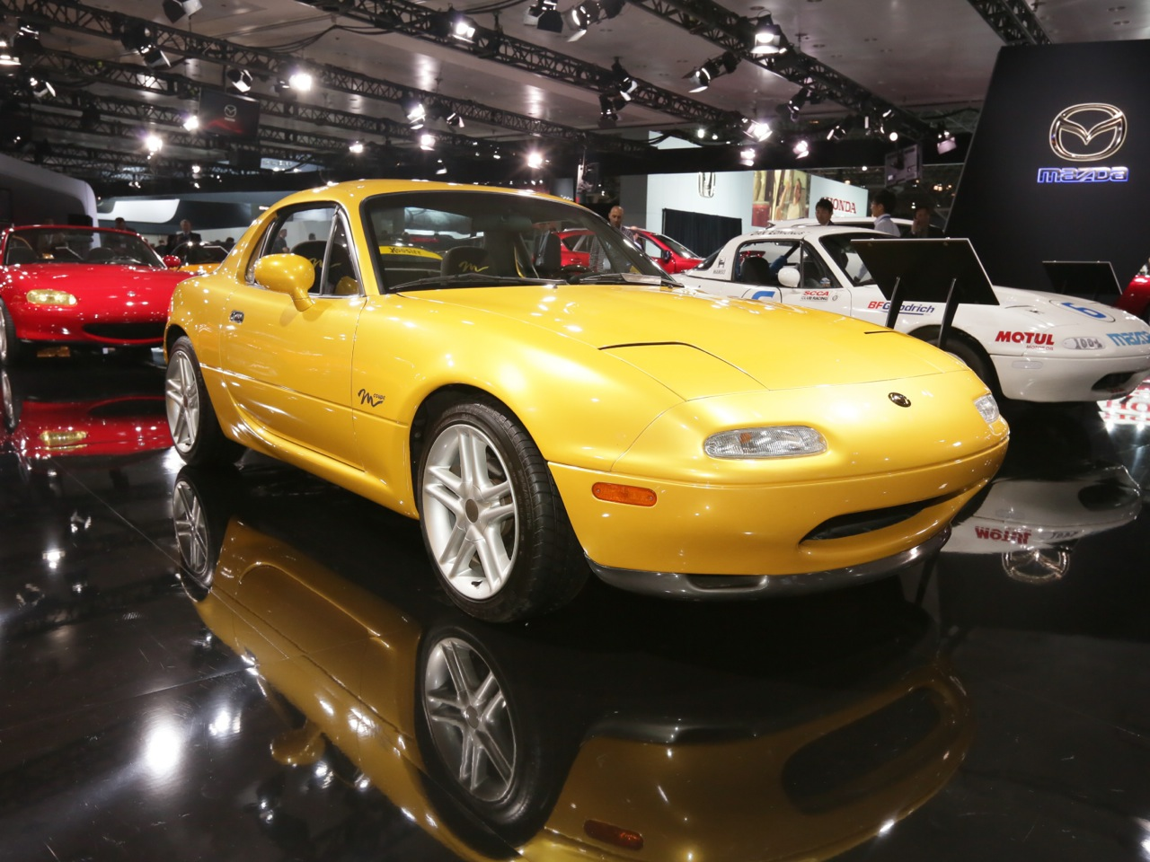M Coupe, 1996 New York auto show