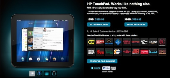 HP said today that the $399 price cut is permanent.