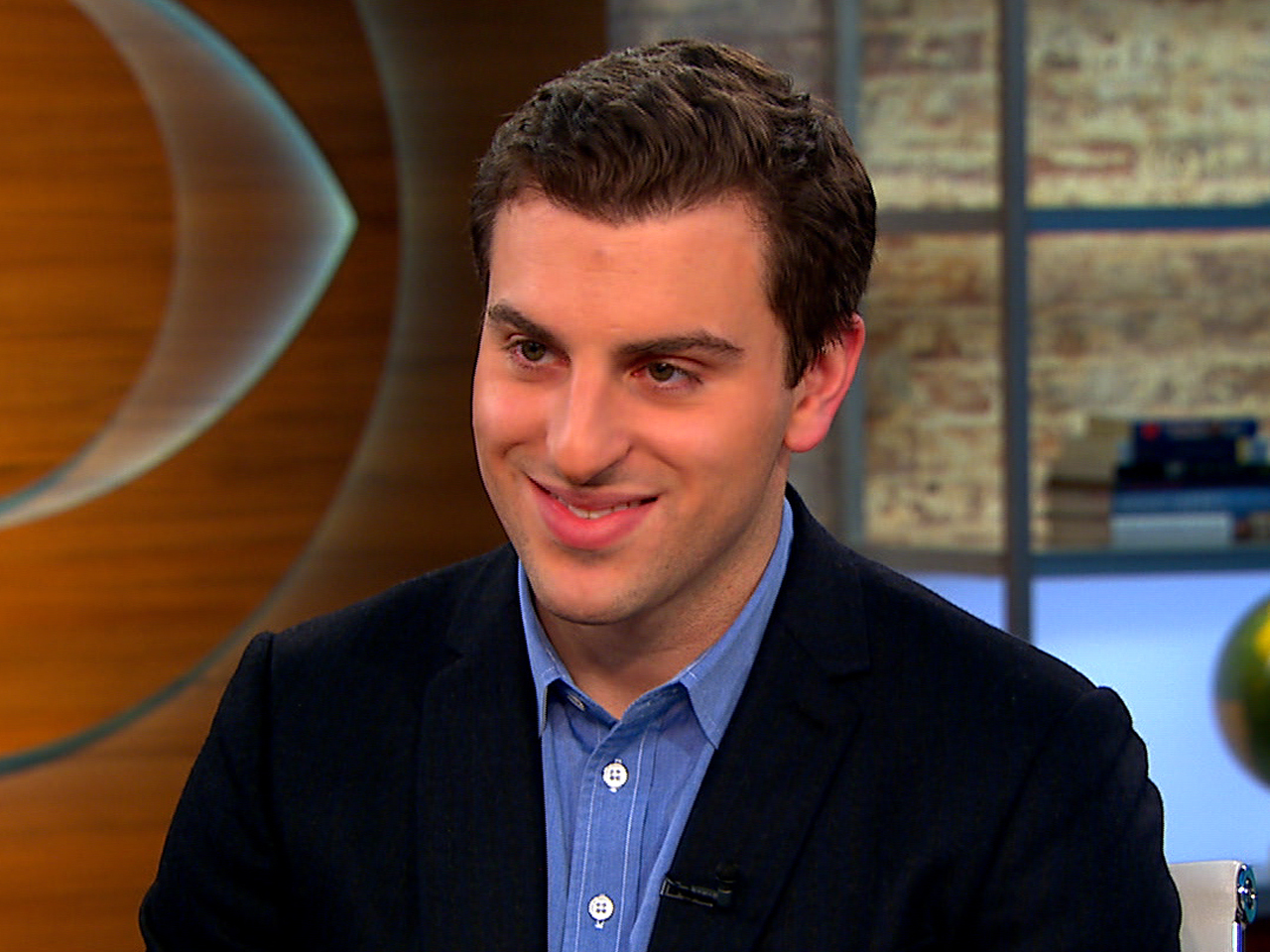 "Brian Chesky on ""CBS This Morning."""