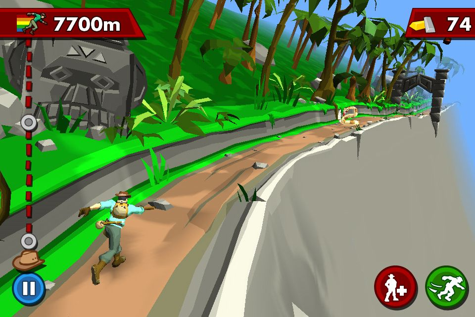 The new Pitfall for iOS offers some great variations on the Temple Run theme.