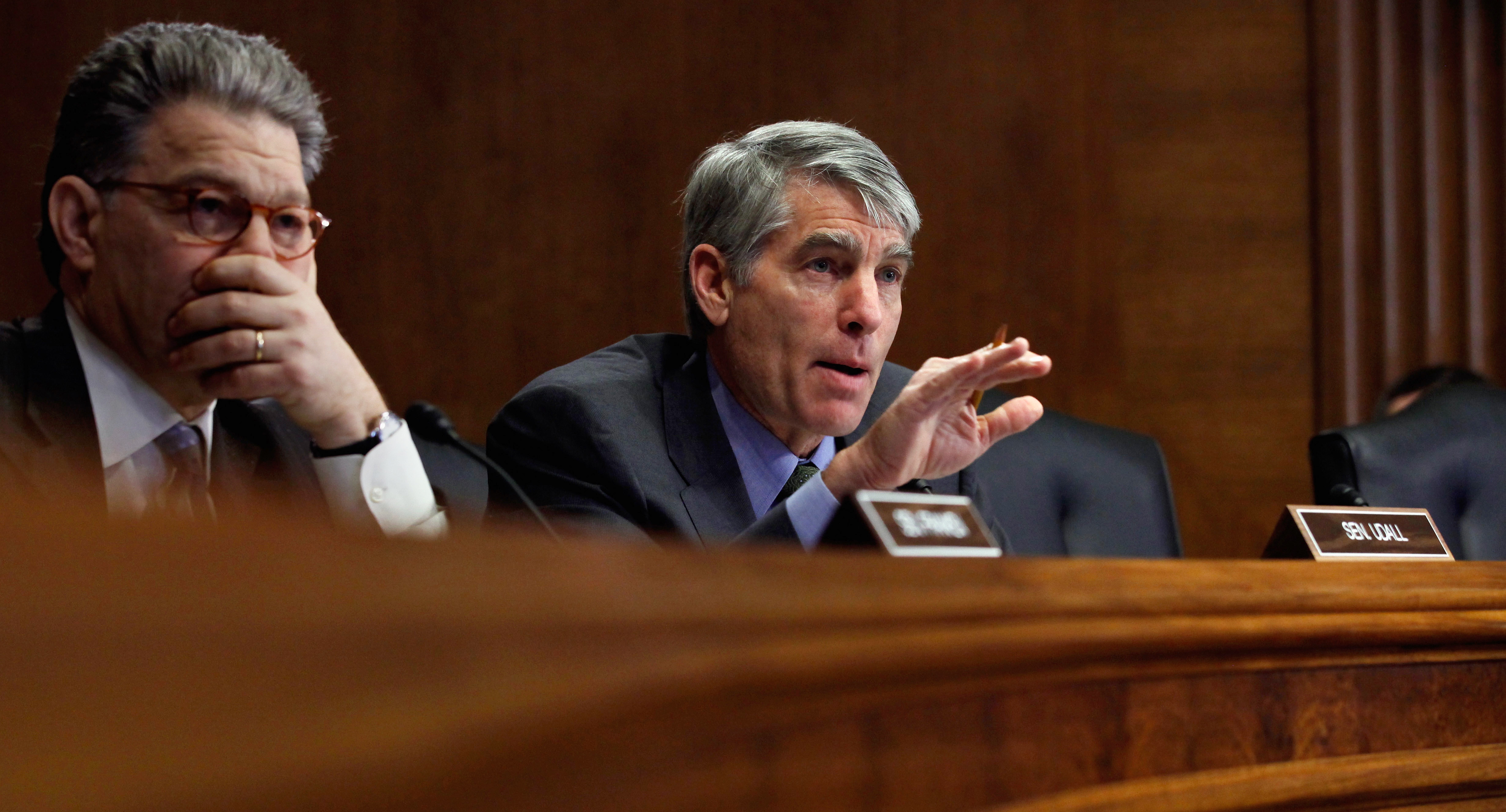 """U.S. Senator Mark Udall says Americans' """"right to be free from 'unreasonable searches and seizures' applies regardless of whether it involves a letter stored in a desk or an email stored online."""""""