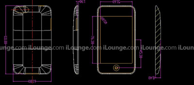 Design blueprint for 2G iPod Touch