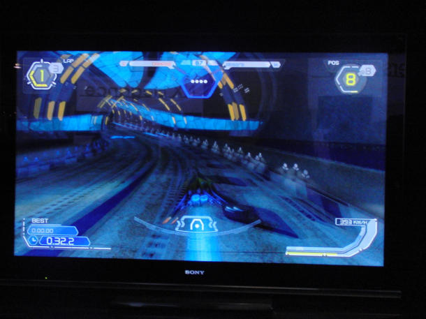 Playing 3D games on the PlayStation 3.
