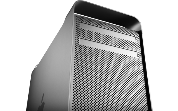 Apple's old Mac Pro, with two optical drives. It now has zero.