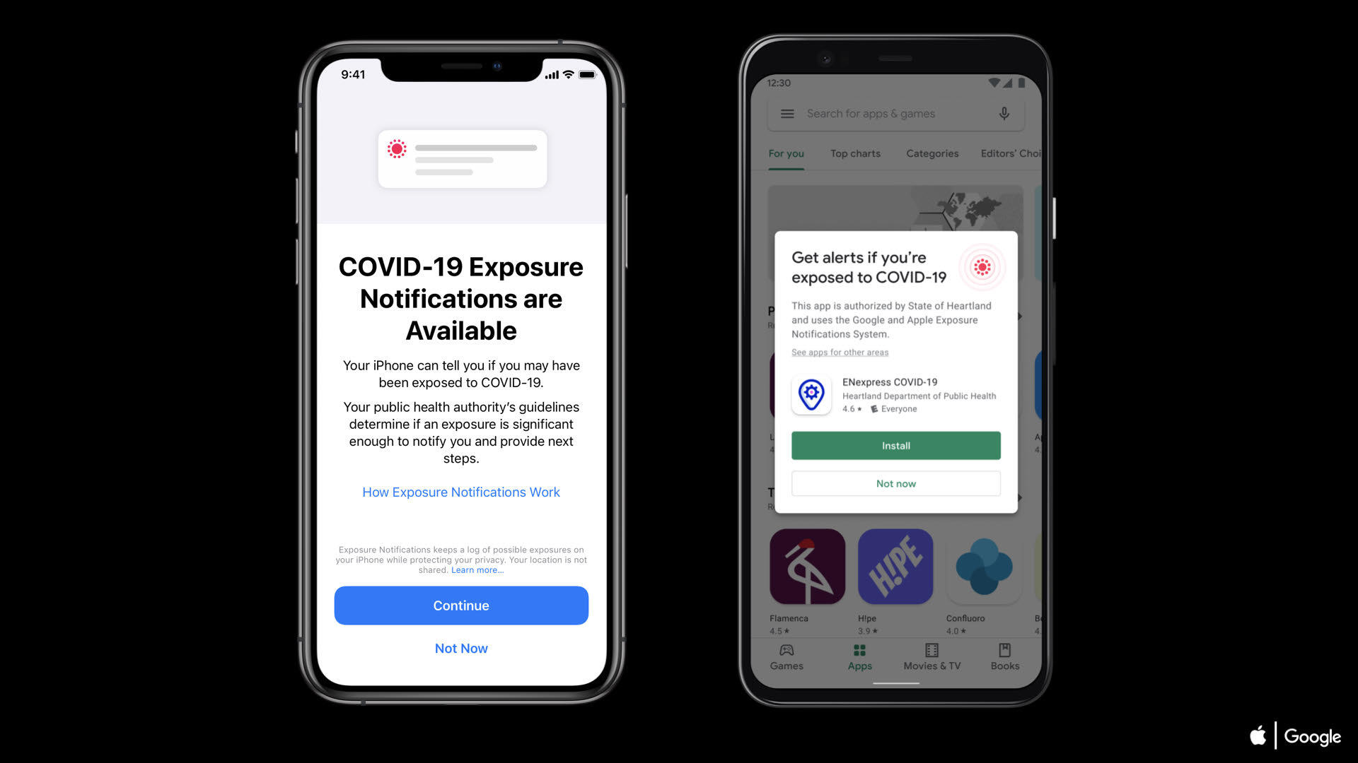 What Apple and Google's new exposure notification system will look like