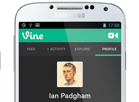 Vine on Android