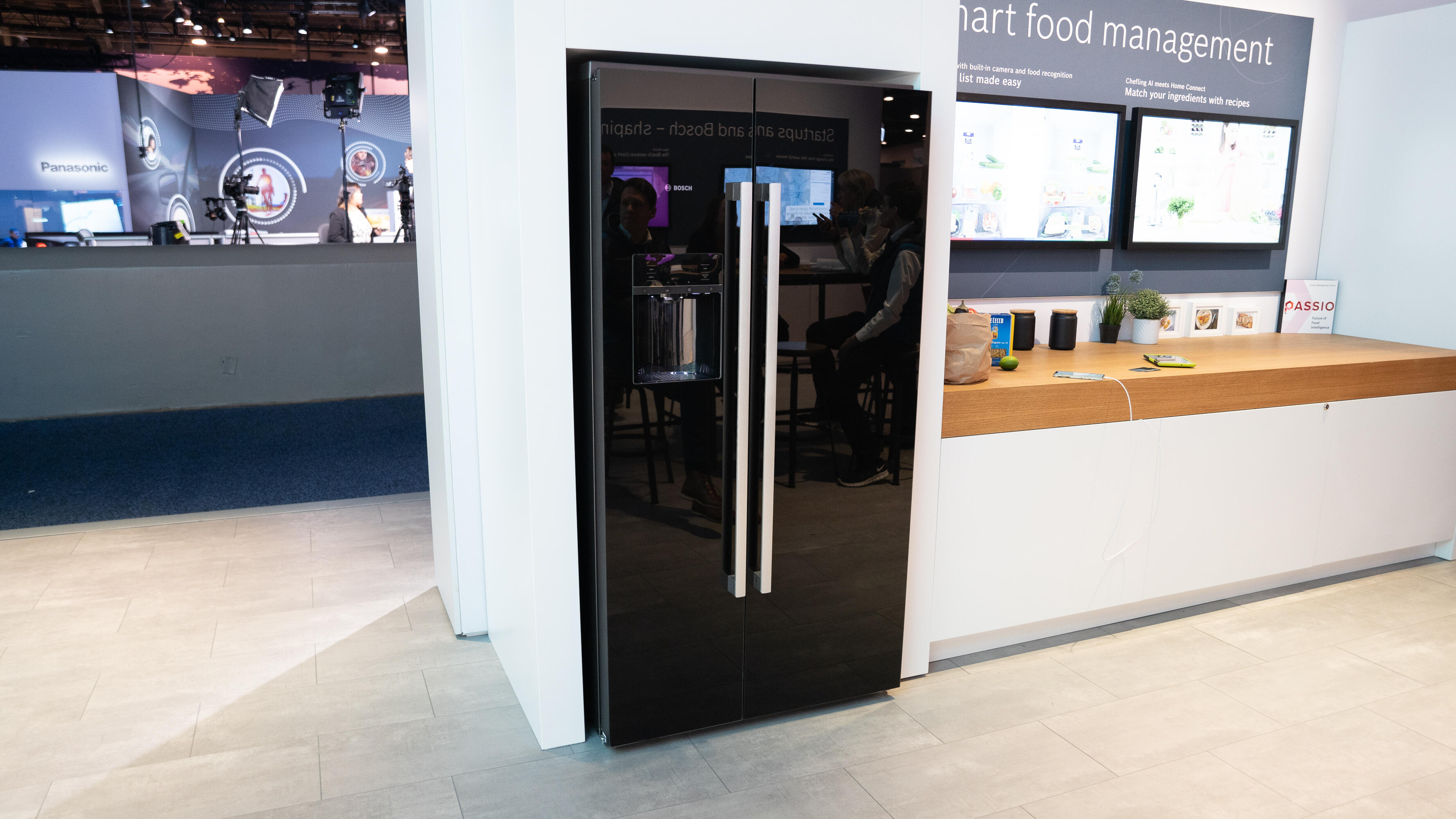 Bosch's connected refrigerators