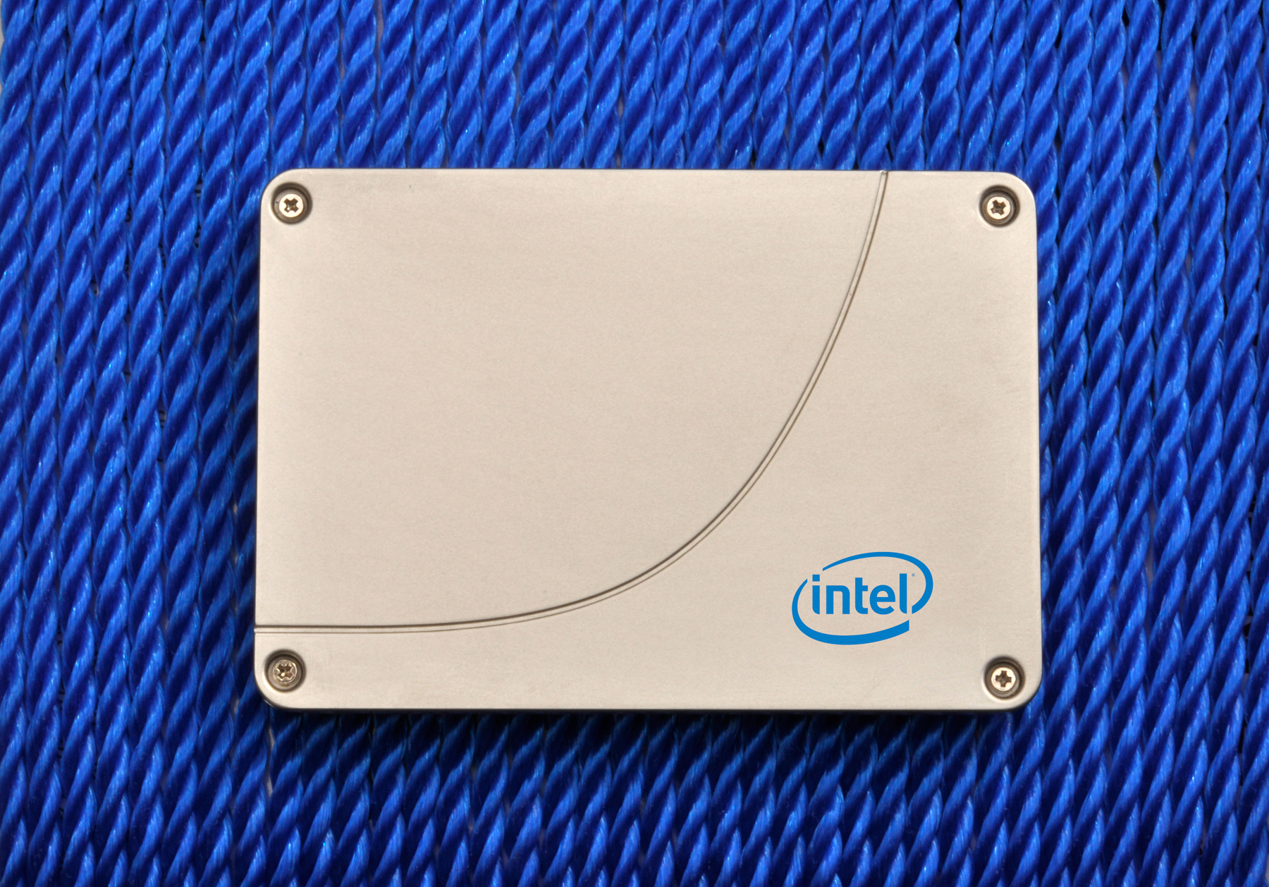 The new Intel 520 Series solid-state drive.