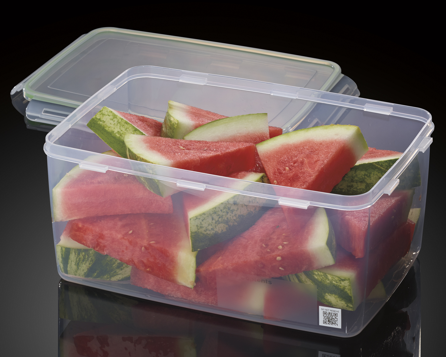 The Cuisinart SmarTrack food storage containers will send you an alert warning you when food will go bad.