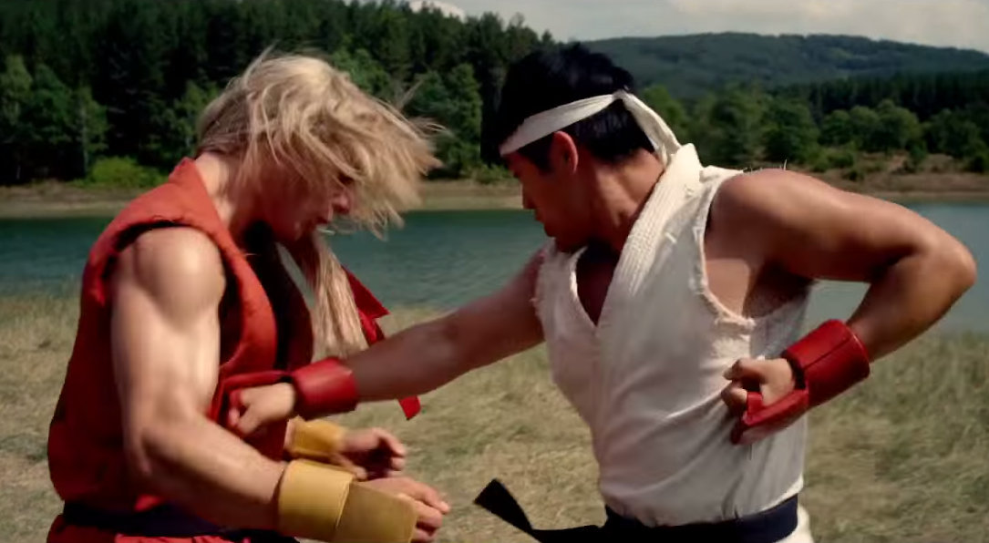 Ken and Ryu in Street Fighter