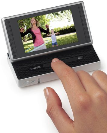 The Cisco Flip SlideHD is a high-end pocket camcorder with a (now) low-end price.