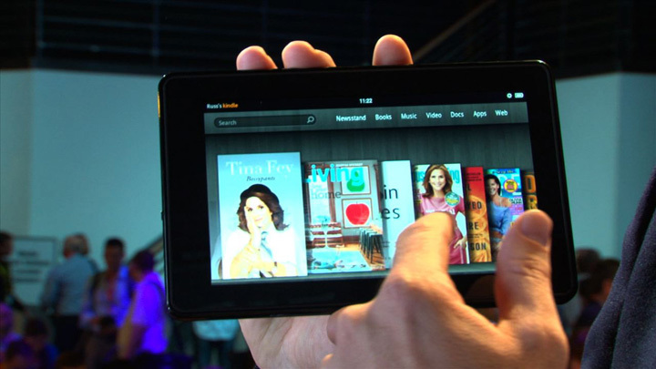 Amazon unveils the Kindle Fire and new e-readers