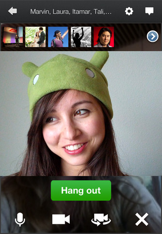 Teens can now join and create Hangouts.