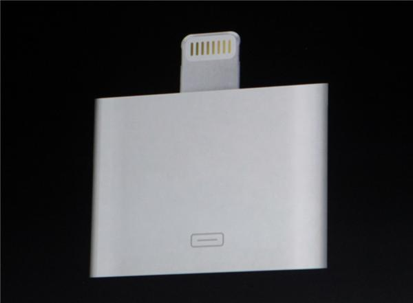 The Lightning adapter. This shouldn't be necessary.