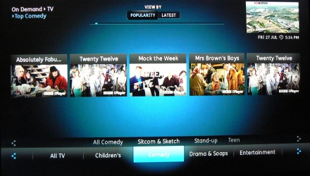 YouView search