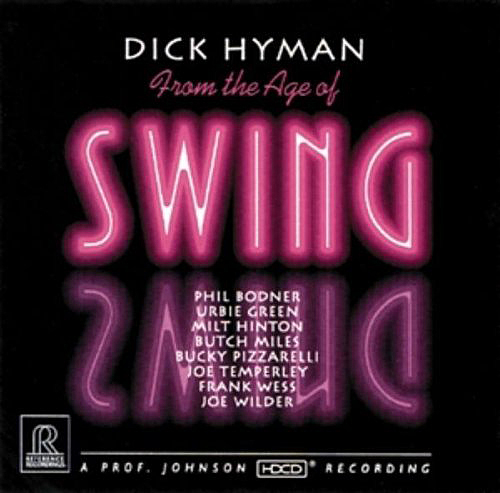 """Dick Hyman, """"From the Age of Swing"""""""