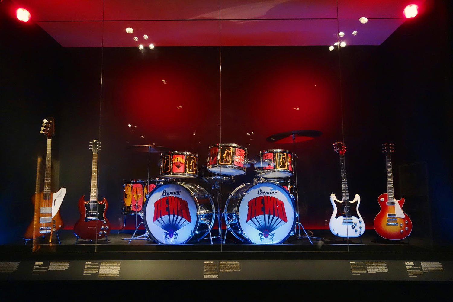 The Who's stage set