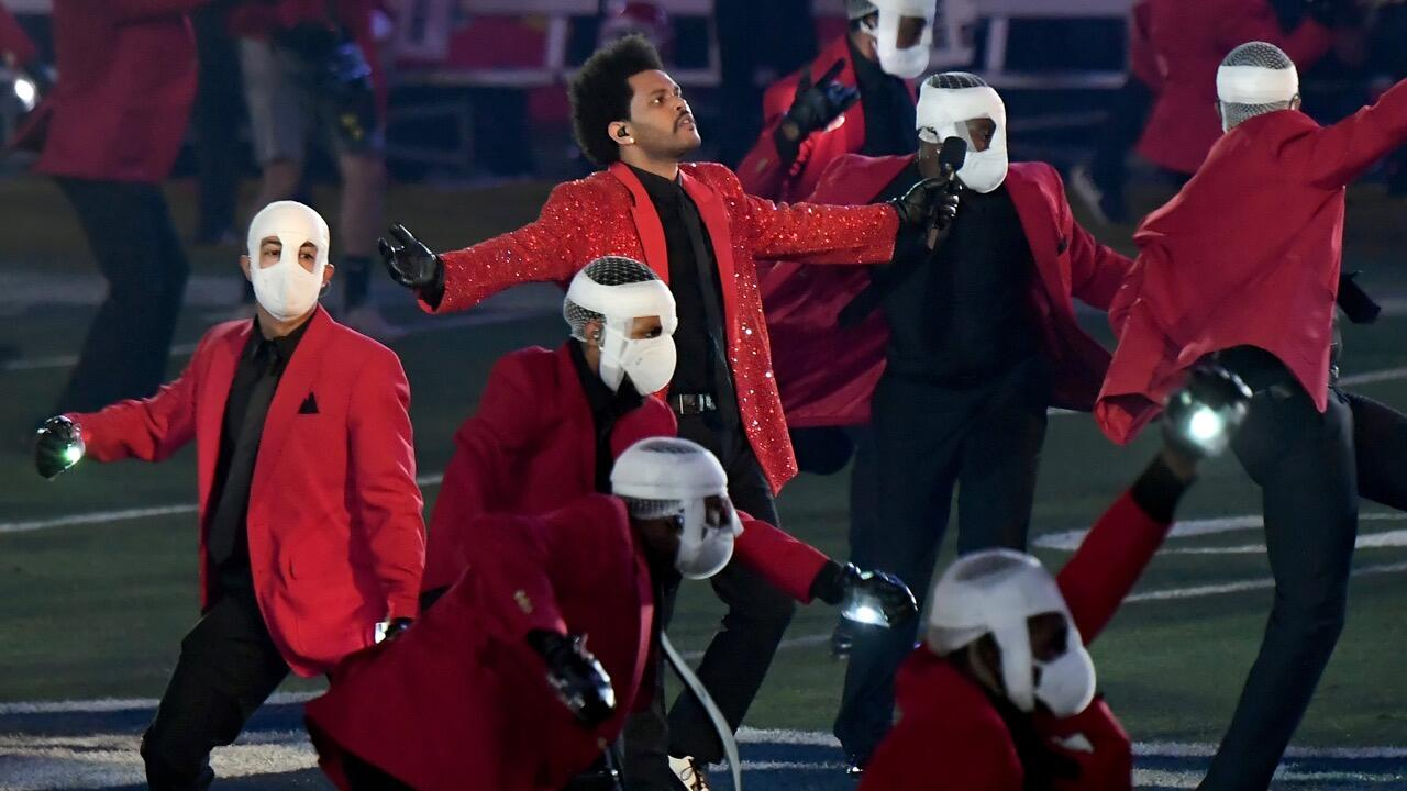 Watch The Weeknd S Super Bowl 2021 Halftime Show In Full Cnet