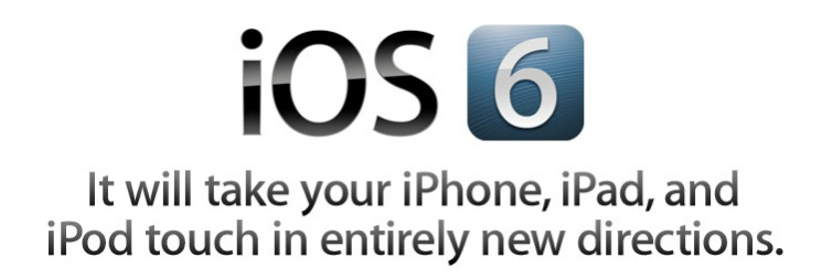 iOS 6 image: Well, it will take some iPhones and iPads to entirely new directions.