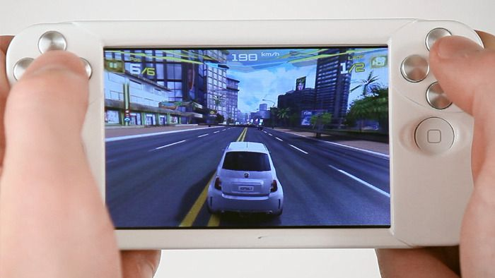 The WynCase clips onto your iPhone or iPod Touch to provide tactile controls for a variety of games.