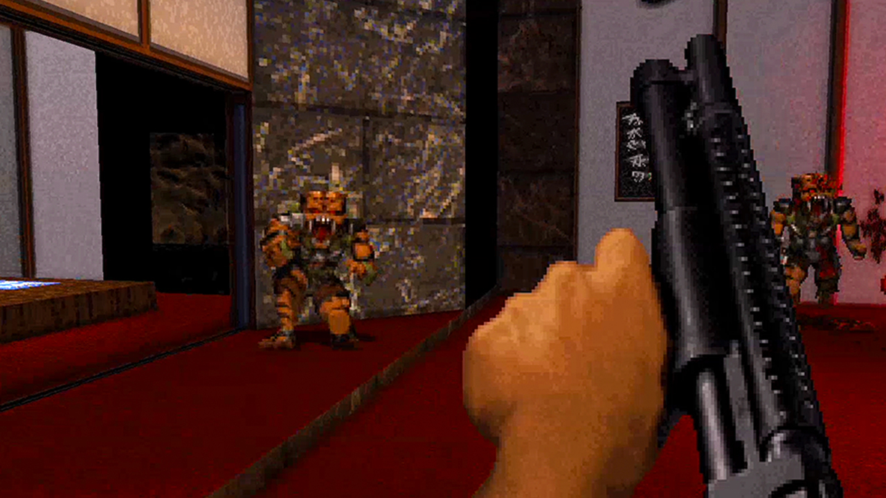 Video: Duke Nukem 3D: 20th Anniversary - Raw Meat gameplay