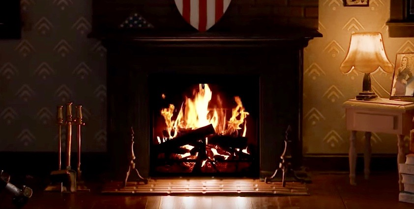 Closer look at Captain America's fireside