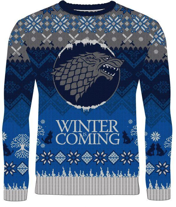 'Winter is coming' Game of Thrones sweater