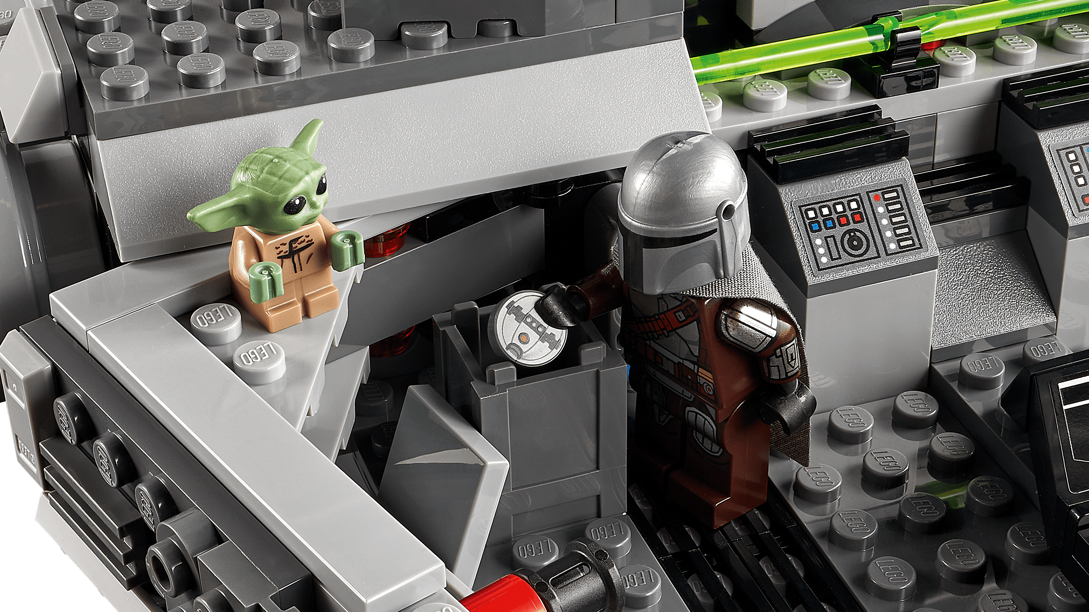 Baby Yoda is the only Lego piece that matters