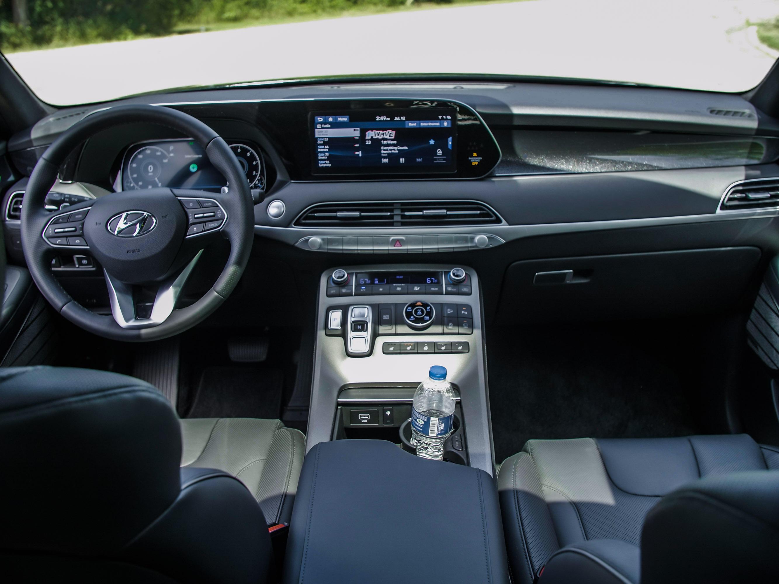 2020 Hyundai Palisade dashboard