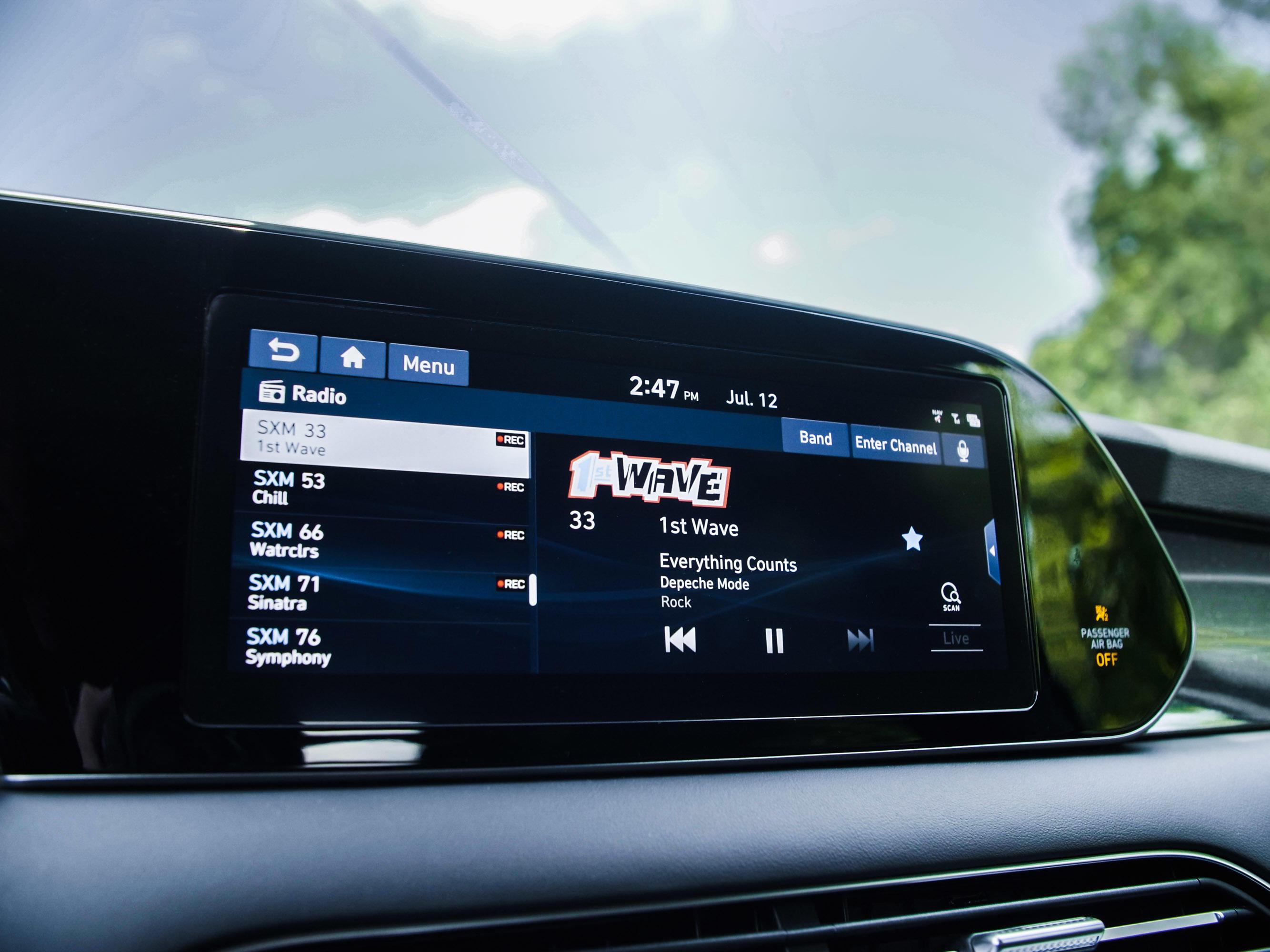 2020 Hyundai Palisade infotainment