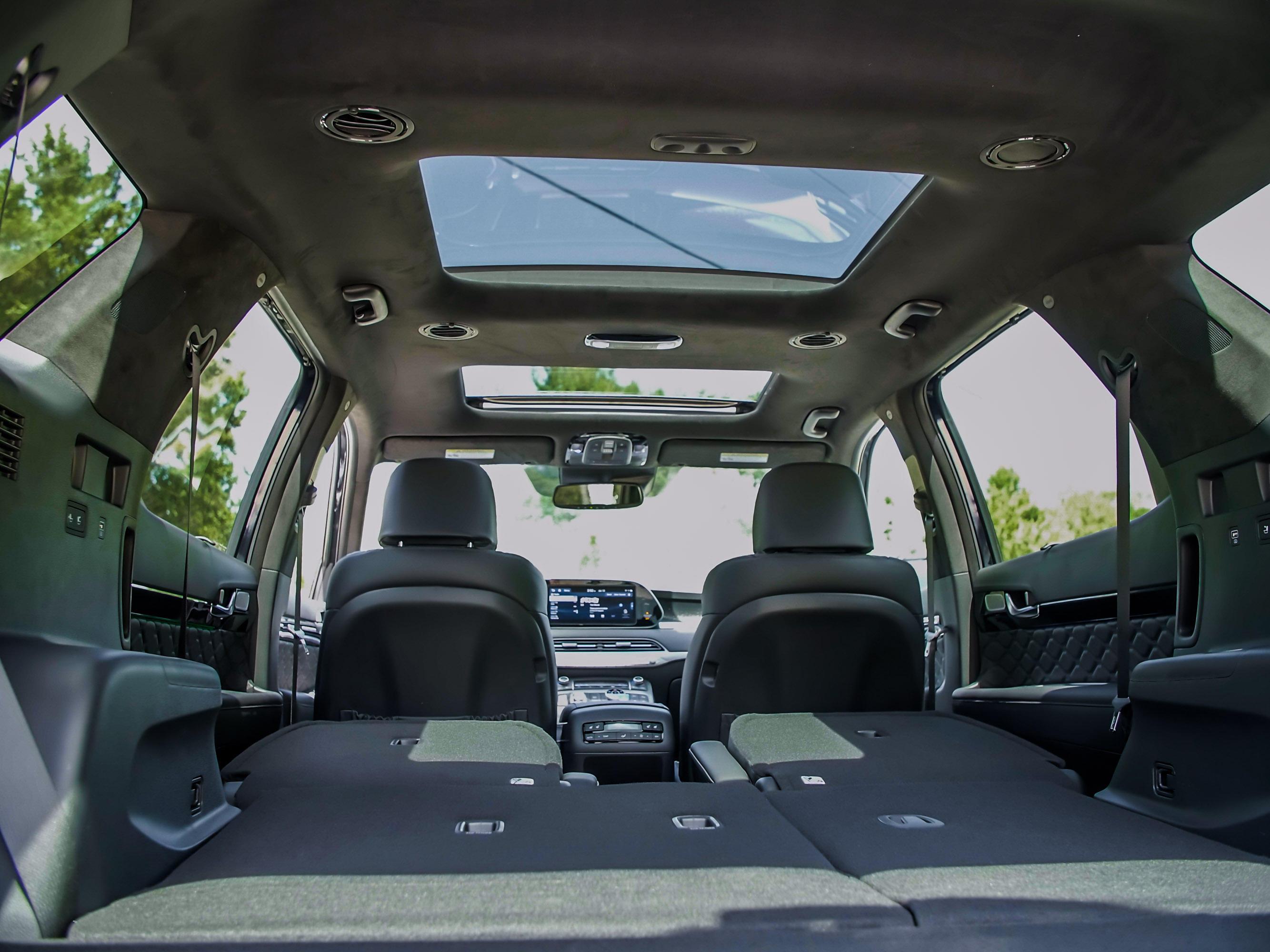 2020 Hyundai Palisade cargo space