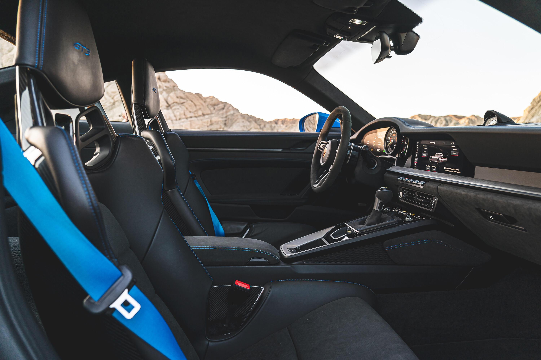2022 Porsche 911 GT3 - interior