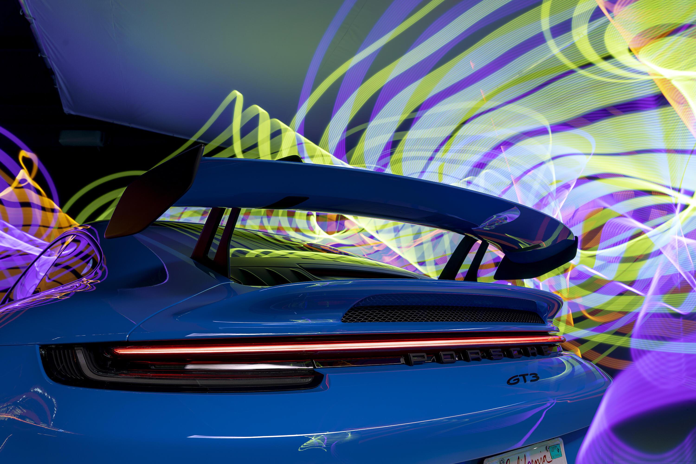 2022 Porsche 911 GT3 - wing