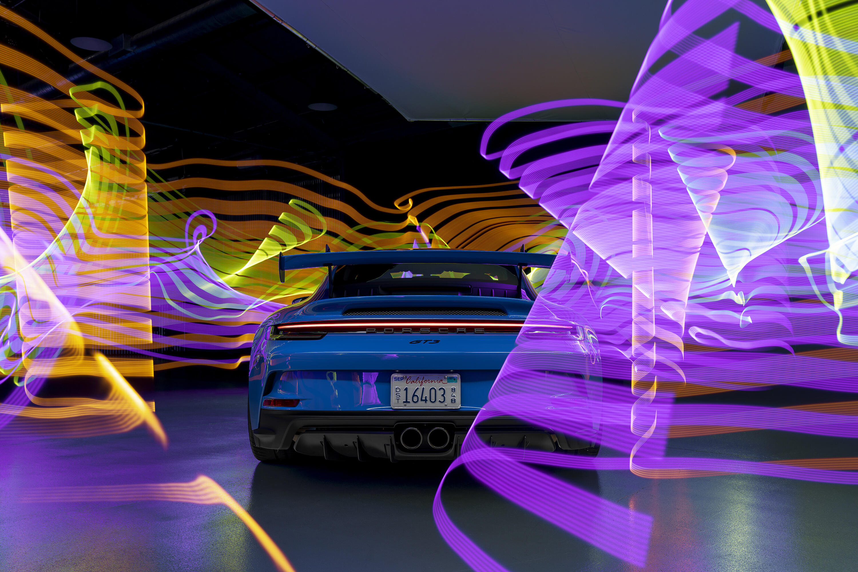 2022 Porsche 911 GT3 - sunset