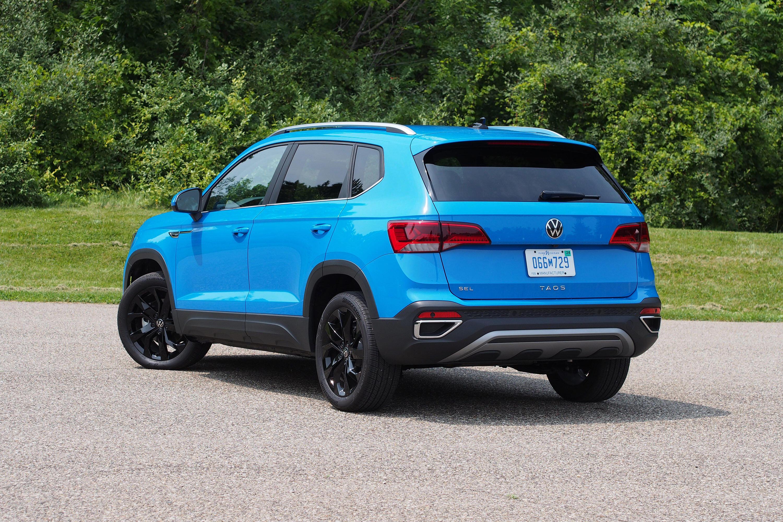 2022 Volkswagen Taos SEL FWD - rear