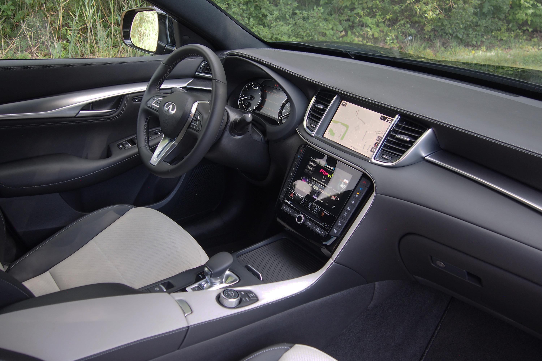 2022 Infiniti QX55 Essential AWD - interior
