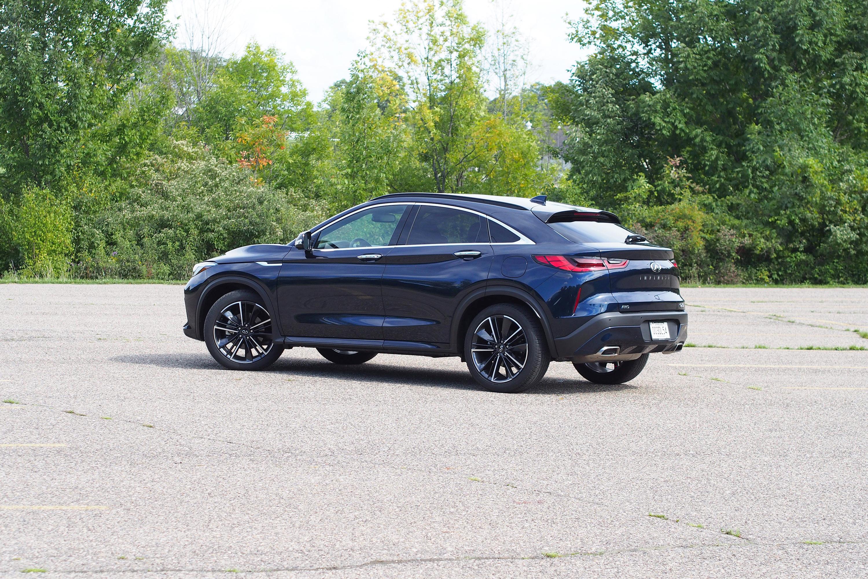 2022 Infiniti QX55 Essential AWD - rear