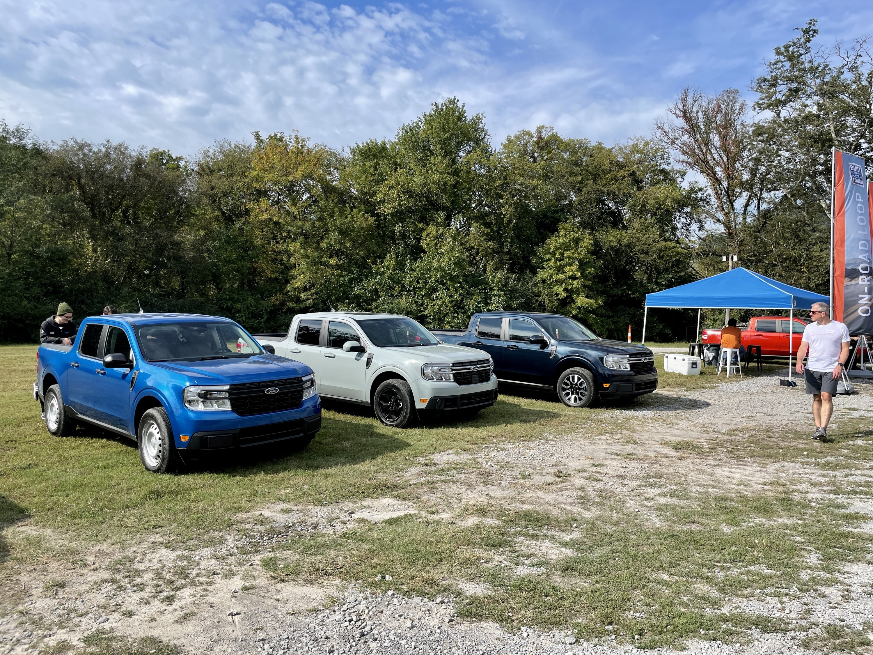 2022 Ford Maverick launch event